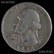 1948-D Washington Quarter Silver Coin 1948 Silver Quarter