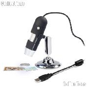 Microscope Camera Digital USB by Lighthouse 20x-200x w/ LEDs for Coins & Stamps
