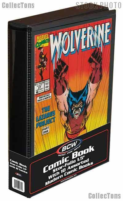 Comic Book Collecting Starter Set Kit with Stor-Folio Portfolio and Comics