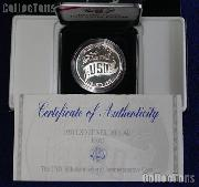 1991-S United Service Organizations (USO) Commemorative Proof Silver Dollar