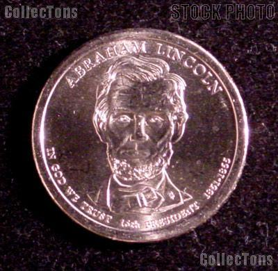 2010-D Abraham Lincoln Presidential Dollar GEM BU 2010 Lincoln Dollar