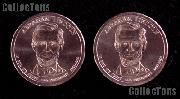 2010 P&D Abraham Lincoln Presidential Dollar GEM BU 2010 Lincoln Dollars