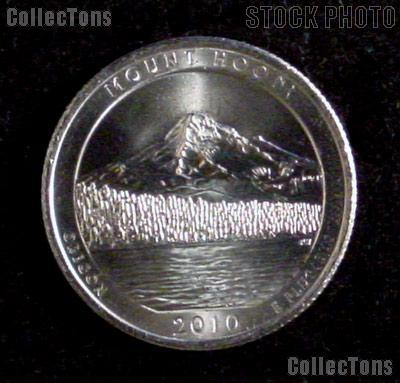 2010-P Oregon Mount Hood National Park Quarter GEM BU America the Beautiful