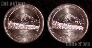 2010 P & D Oregon Mount Hood National Park Quarters GEM BU America the Beautiful