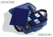 Coin Carry Bag for Coin Collectors w/ 4 Certified Coin Trays COIN TRAVELLER by Lighthouse