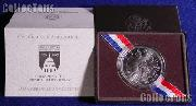 1989-D Congressional Commemorative Uncirculated Silver Dollar