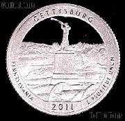 2011-S Pennsylvania Gettysburg National Park Quarter GEM PROOF America the Beautiful