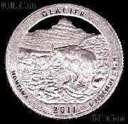 2011-S Montana Glacier National Park Quarter GEM SILVER PROOF America the Beautiful