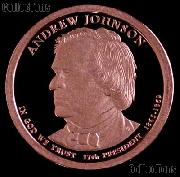 2011-S Andrew Johnson Presidential Dollar GEM PROOF Coin