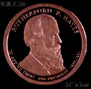 2011-S Rutherford B Hayes Presidential Dollar GEM PROOF Coin