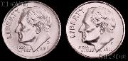 2011 P & D Roosevelt Dime GEM BU 2011 Dimes Perfect for Album