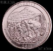2011-D Montana Glacier National Park Quarter GEM BU America the Beautiful