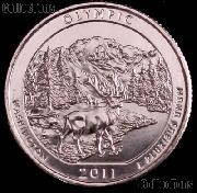 2011-P Washington Olympic National Park Quarter GEM BU America the Beautiful