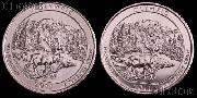 2011 P & D Washington Olympic National Park Quarters GEM BU America the Beautiful