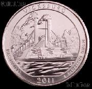 2011-P Mississippi Vicksburg National Park Quarter GEM BU America the Beautiful
