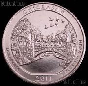 2011-P Oklahoma Chickasaw National Park Quarter GEM BU America the Beautiful