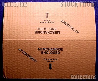 Self-Adhesive Cardboard Envelope Mailer for #10 Envelopes, pack of 10