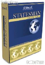 International Stamp Album Statesman Deluxe Part I by H.E. Harris