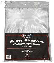 "Photo Print Protection Sleeve 9"" x 12"" pack of 100 Polypropylene Print Bags"