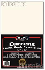 Current Age Comic Book Extenders - Pack of 200 by BCW