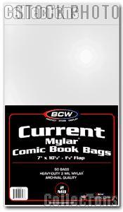 Current Age Comic Book 2 Mil Mylar Bags - Pack of 50 by BCW