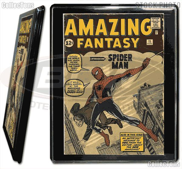silver age comic book frame by bcw wall mountable comic book showcase