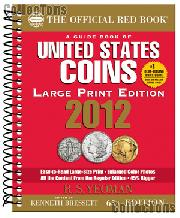 LARGE PRINT Whitman Red Book of U.S. Coins 2012