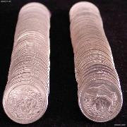 2011 P & D Montana Glacier National Park Quarter Bank Wrapped Rolls 80 Coins GEM BU