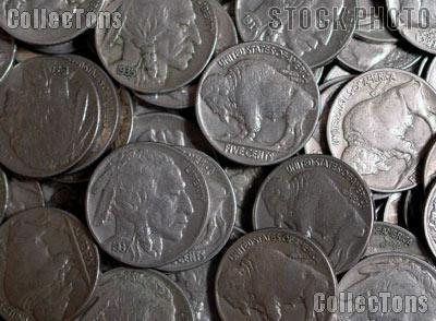 Buffalo Nickels with Full Horn