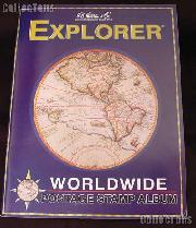 Harris Explorer Worldwide Postage Stamp Album