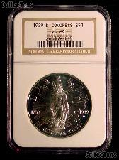 1989-D Congress Bicentennial Congressional Commemorative Silver Dollar in NGC MS 69