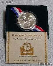 1992-D Christopher Columbus Qunicentenary BU Commemorative Silver Dollar