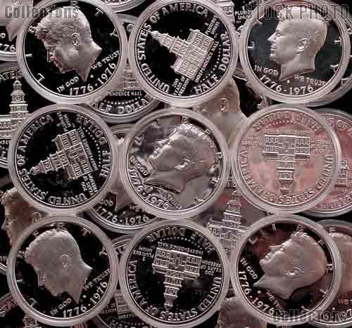 1976-S Kennedy SILVER Half Dollar - Proof in Capsule