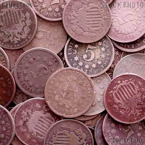 Shield Nickel 1866-1883