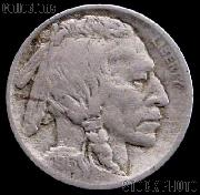 1913-D Buffalo Nickel Variety 2 FIVE CENTS in Recess G-4 or Better