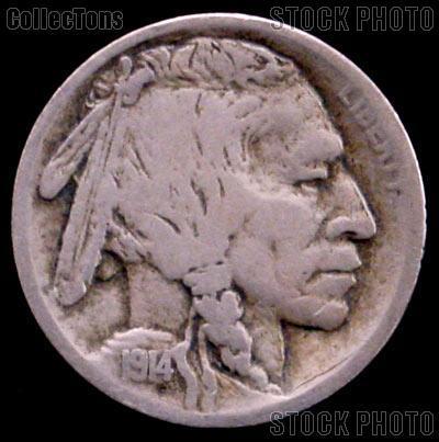 1914-S Buffalo Nickel G-4 or Better Indian Head Nickel