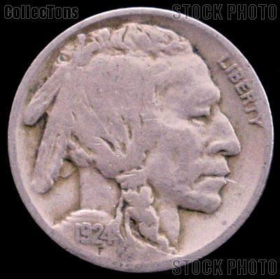 1924-D Buffalo Nickel G-4 or Better Indian Head Nickel