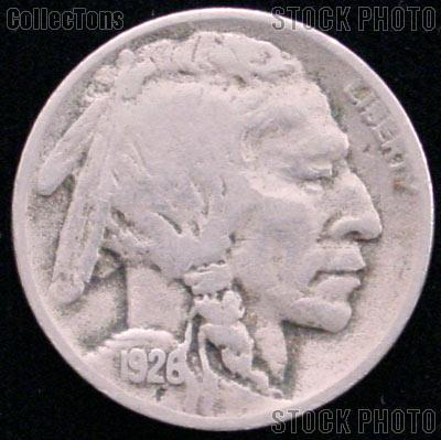1926-D Buffalo Nickel G-4 or Better Indian Head Nickel