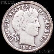 1913 Barber Dime G-4 or Better Liberty Head Dime