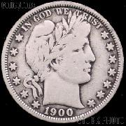 1900 Barber Half Dollar G-4 or Better Liberty Head Half Dollar