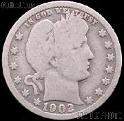 1902 Barber Half Dollar G-4 or Better Liberty Head Half Dollar