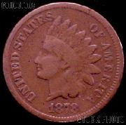 1878 Indian Head Cent Variety 3 Bronze G-4 or Better Indian Penny
