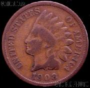 1908-S Indian Head Cent Variety 3 Bronze G-4 or Better Indian Penny