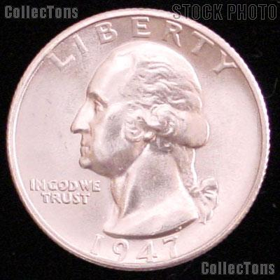 1947-S Washington Silver Quarter Gem BU (Brilliant Uncirculated)