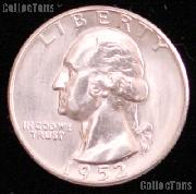 1952 Washington Silver Quarter Gem BU (Brilliant Uncirculated)
