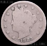 1883 Liberty Head V Nickel No CENTS G-4 or Better