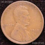 1918-D Wheat Penny Lincoln Wheat Cent Circulated G-4 or Better
