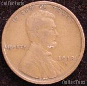 1918-S Wheat Penny Lincoln Wheat Cent Circulated G-4 or Better