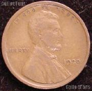 1920 Wheat Penny Lincoln Wheat Cent Circulated G-4 or Better