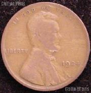 1924 Wheat Penny Lincoln Wheat Cent Circulated G-4 or Better